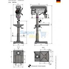 Вертикально-сверлильный станок OPTIdrill D 33Pro